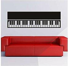 azutura Einfache Tastatur Wandtattoo