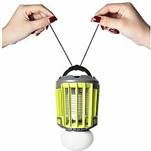 AZWE Outdoor Camping Laterne mit Bug Zapper 2 in 1