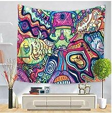 AZYJBF Tapisserie Wandfarbe Muster Hängen Mit Art