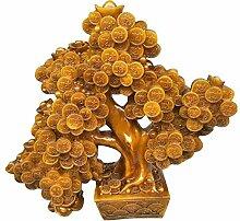 Azyq Große Feng Shui Dekor Geldbaum Statue,