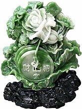 Azyq Große Feng Shui Dekor Jade Kohl Lucky
