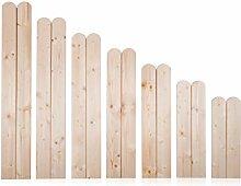 AZZAP Zaunlatten 80cm 15 Stück Holzzaun Holz Zaun
