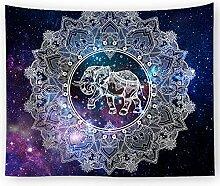 AZZXZONa Elefant Tapisserie, Picknickdecke Vorhang