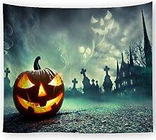 AZZXZONa Halloween Tapisserie, Esstisch Sofa Set