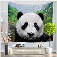AZZXZONa Panda Tapisserie, Schlafzimmer Schlafsaal