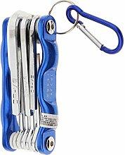 B Baosity Sechskantschlüssel Pocketschlüsselsatz
