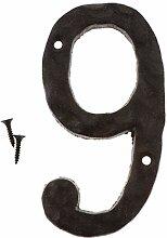 B Blesiya 0-9 Vintage Retro Türnummer Hausnummer