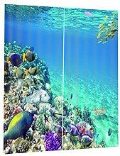 B Blesiya 3D See Unterwasser Verdunkelungsvorhang
