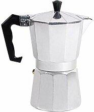 B Blesiya Aluminium Espressokocher Kaffeekocher