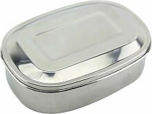 B Blesiya Edelstahl Lunchbox Kinder Metall