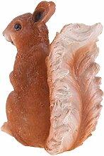 B Blesiya Eichhörnchen Gartenfigur Gartendeko