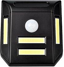B Blesiya LED Solar Wandlampe, Bewegungsmelder,