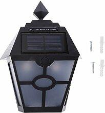 B Blesiya LED Solarleuchte Sensor wandleuchte