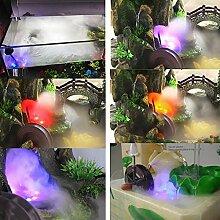 B Blesiya LED Teich Brunnen Springbrunnen Nebel