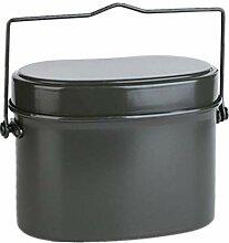 B Blesiya Rund Lunchbox Aluminium Essensbehälter