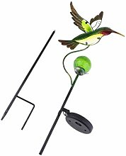 B Blesiya Solarlampe Gartendeko Kolibri der