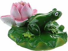 B Blesiya Süße Frosch Teichdekoration