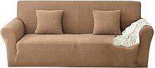B Blesiya Universal Einfarbige Stretch Sofabezüge