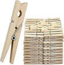B-Creative Holz Wäscheklammern Clips Kiefer