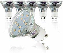 B.K.Licht 5er Set 3W LED Lampen –