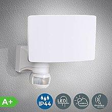 B.K.Licht LED Außenleuchte - Außenlampe mit