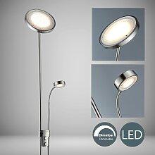 B.K.Licht LED Deckenfluter Luan, LED-Board,