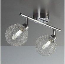 B.K.Licht LED Deckenleuchte, LED Design