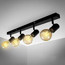 B.K.Licht LED Deckenspots, E27, Vintage