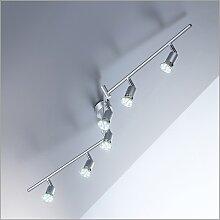 B.K.Licht LED Deckenspots, LED-Board, Warmweiß,