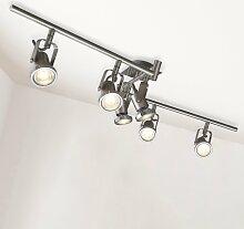 B.K.Licht LED Deckenspots Phönix 6, GU10,