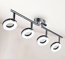 B.K.Licht LED Deckenspots Yuna 4, LED-Board,