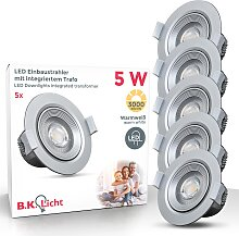 B.K.Licht LED Einbauleuchte Alcor, LED-Board,