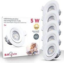 B.K.Licht LED Einbauleuchte Alcor, LED