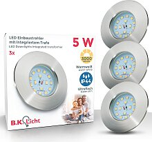 B.K.Licht LED Einbauleuchte Elias, LED-Board,