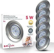 B.K.Licht LED Einbauleuchte Kiro, LED-Board,