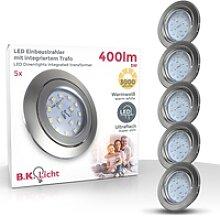 B.K.Licht LED Einbauleuchte, LED Einbauspots