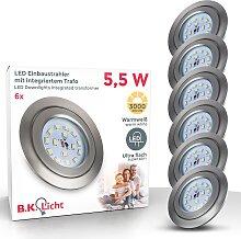 B.K.Licht LED Einbauleuchte Mano, LED-Board,