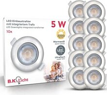 B.K.Licht LED Einbauleuchte Volantis, LED