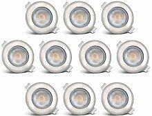 B.K.Licht LED Einbauleuchten schwenkbar ultra