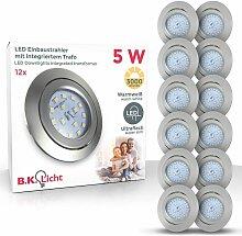 B.k.licht - LED Einbaustrahler ultra-flach