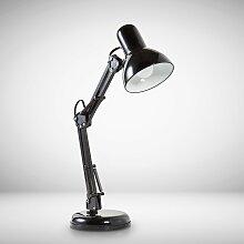 B.K.Licht Schreibtischlampe Draco, E14, Tischlampe
