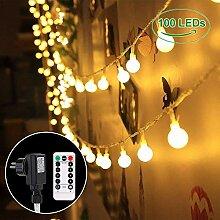 B-right 100 LEDs Globe Lichterkette glühbirne,