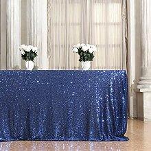 b-shine Pailletten Tischdecke Hochzeit Bankett
