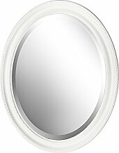 B.U.S. Wohnstyle Spiegel Wandspiegel oval antik