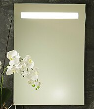 B-WARE Wandspiegel Badspiegel LED/Neon Badezimmerspiegel Wand Spiegel Ambiente-Light 50 x 70 cm