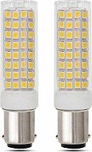 B15D LED 10W Kaltweiß 6000K, Doppelkontakt,