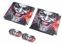 Ba30DEllylelly 1set Joker Vinly Skin Aufkleber