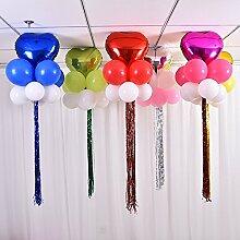 Baanuse 12-in-1 Ballon Luftballon, Geburtstag,