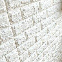 BABEE Arthome 3D-Wandpaneele mit weißem