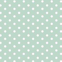babrause® Baumwollstoff Punkte Mint Webware